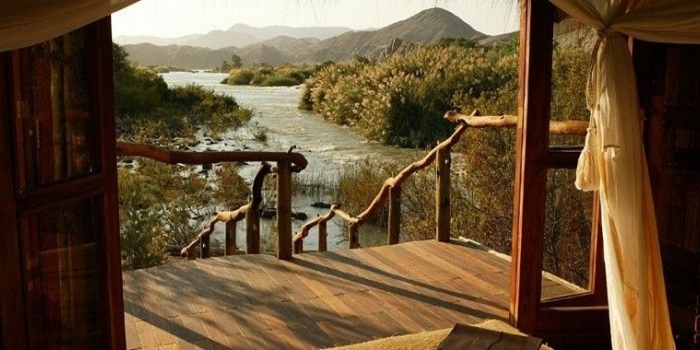 Lodge sauvage en terre Himba